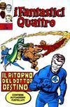 Cover for I Fantastici Quattro (Editoriale Corno, 1971 series) #7