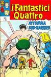 Cover for I Fantastici Quattro (Editoriale Corno, 1971 series) #10
