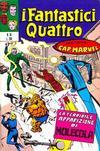 Cover for I Fantastici Quattro (Editoriale Corno, 1971 series) #16