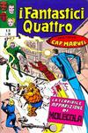 Cover for I Fantastici Quattro (Editoriale Corno, 1971 series) #16