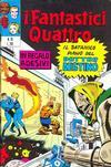 Cover for I Fantastici Quattro (Editoriale Corno, 1971 series) #18