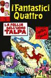 Cover for I Fantastici Quattro (Editoriale Corno, 1971 series) #25