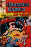 Cover for I Fantastici Quattro (Editoriale Corno, 1971 series) #28