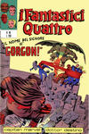 Cover for I Fantastici Quattro (Editoriale Corno, 1971 series) #40