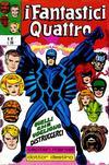 Cover for I Fantastici Quattro (Editoriale Corno, 1971 series) #42