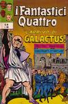 Cover for I Fantastici Quattro (Editoriale Corno, 1971 series) #44