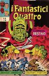 Cover for I Fantastici Quattro (Editoriale Corno, 1971 series) #45