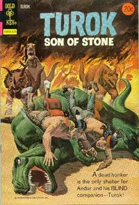 Cover Thumbnail for Turok, Son of Stone (Western, 1962 series) #90 [Gold Key]