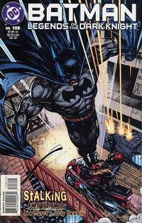 Cover Thumbnail for Batman: Legends of the Dark Knight (DC, 1992 series) #108