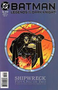 Cover Thumbnail for Batman: Legends of the Dark Knight (DC, 1992 series) #112
