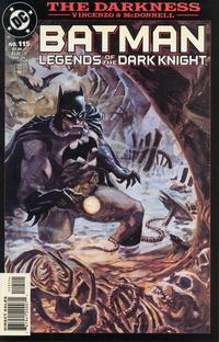 Cover Thumbnail for Batman: Legends of the Dark Knight (DC, 1992 series) #115