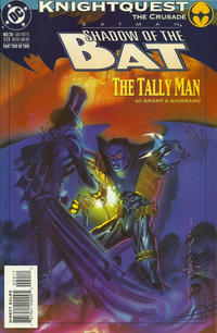 Cover for Batman: Shadow of the Bat (DC, 1992 series) #20
