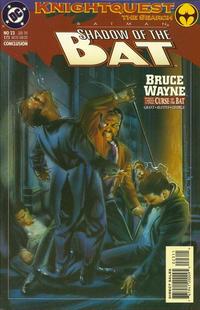 Cover Thumbnail for Batman: Shadow of the Bat (DC, 1992 series) #23