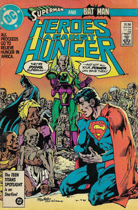 Cover Thumbnail for Heroes Against Hunger (DC, 1986 series) #1 [Direct-Sales]