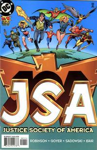Cover Thumbnail for JSA (DC, 1999 series) #1 [Direct Sales]