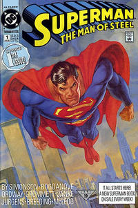 Cover Thumbnail for Superman: The Man of Steel (DC, 1991 series) #1