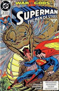 Cover Thumbnail for Superman: The Man of Steel (DC, 1991 series) #3