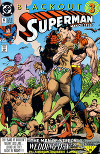 Cover Thumbnail for Superman: The Man of Steel (DC, 1991 series) #6