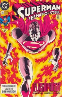 Cover Thumbnail for Superman: The Man of Steel (DC, 1991 series) #11