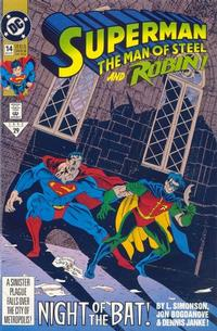 Cover Thumbnail for Superman: The Man of Steel (DC, 1991 series) #14