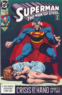 Cover Thumbnail for Superman: The Man of Steel (DC, 1991 series) #16