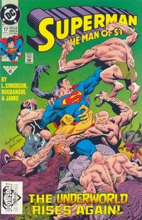 Cover Thumbnail for Superman: The Man of Steel (DC, 1991 series) #17 [Direct Edition]