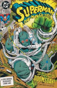 Cover Thumbnail for Superman: The Man of Steel (DC, 1991 series) #18 [Direct Edition]