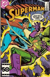 Cover Thumbnail for Superman (DC, 1939 series) #412
