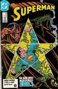 Cover Thumbnail for Superman (DC, 1939 series) #419 [Direct Sales]