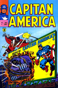 Cover Thumbnail for Capitan America (Editoriale Corno, 1973 series) #90