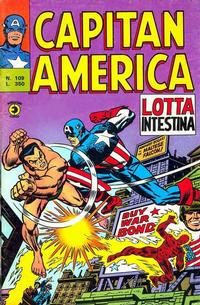 Cover Thumbnail for Capitan America (Editoriale Corno, 1973 series) #109