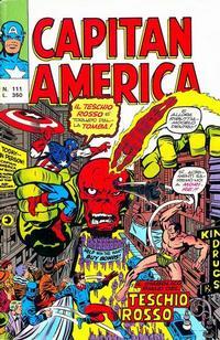 Cover Thumbnail for Capitan America (Editoriale Corno, 1973 series) #111