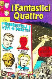 Cover Thumbnail for I Fantastici Quattro (Editoriale Corno, 1971 series) #4