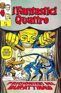 Cover Thumbnail for I Fantastici Quattro (Editoriale Corno, 1971 series) #5