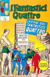 Cover Thumbnail for I Fantastici Quattro (Editoriale Corno, 1971 series) #6