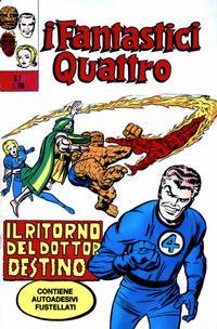 Cover Thumbnail for I Fantastici Quattro (Editoriale Corno, 1971 series) #7