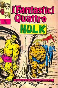 Cover Thumbnail for I Fantastici Quattro (Editoriale Corno, 1971 series) #8