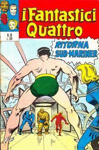 Cover Thumbnail for I Fantastici Quattro (Editoriale Corno, 1971 series) #10