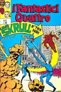 Cover Thumbnail for I Fantastici Quattro (Editoriale Corno, 1971 series) #13