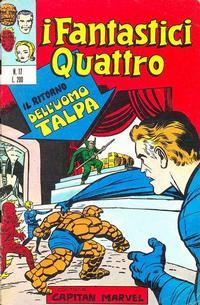 Cover Thumbnail for I Fantastici Quattro (Editoriale Corno, 1971 series) #17