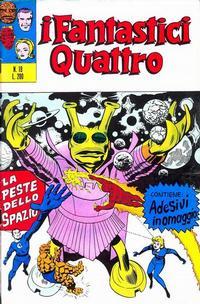 Cover Thumbnail for I Fantastici Quattro (Editoriale Corno, 1971 series) #19