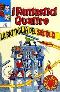 Cover Thumbnail for I Fantastici Quattro (Editoriale Corno, 1971 series) #20