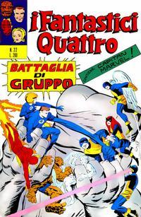 Cover Thumbnail for I Fantastici Quattro (Editoriale Corno, 1971 series) #22