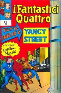 Cover Thumbnail for I Fantastici Quattro (Editoriale Corno, 1971 series) #23