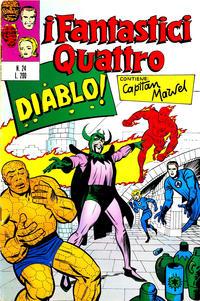 Cover Thumbnail for I Fantastici Quattro (Editoriale Corno, 1971 series) #24