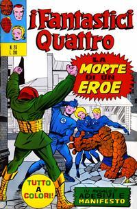 Cover Thumbnail for I Fantastici Quattro (Editoriale Corno, 1971 series) #26