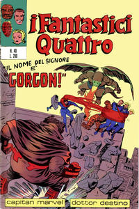 Cover Thumbnail for I Fantastici Quattro (Editoriale Corno, 1971 series) #40
