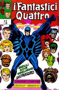 Cover Thumbnail for I Fantastici Quattro (Editoriale Corno, 1971 series) #42