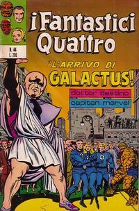 Cover Thumbnail for I Fantastici Quattro (Editoriale Corno, 1971 series) #44