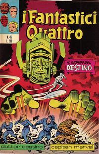 Cover Thumbnail for I Fantastici Quattro (Editoriale Corno, 1971 series) #45